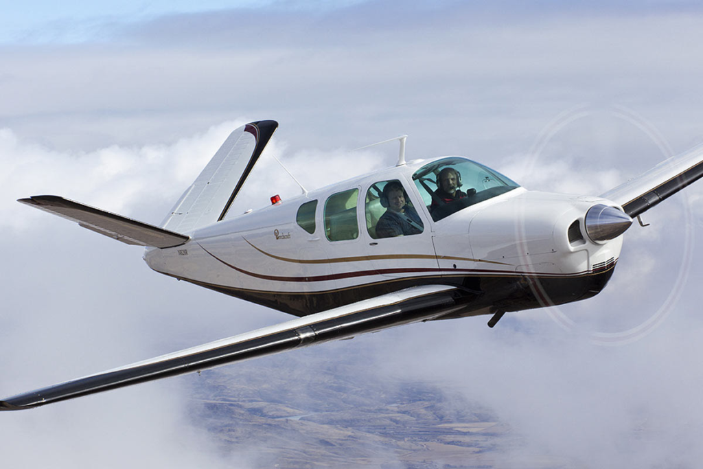 beechcraft bonanza ferrying service