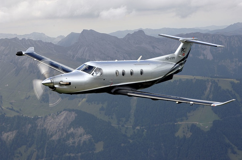pilatus pc12 flight ferry service